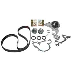 Timing Belt Tensioner Kit + Water Pump Magna 3.5L TH TJ TW TL 1999-05 V6 6G74 3.5L Mitsubishi Engine | ZPN-05558