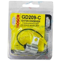 Bosch Ignition Condenser Holden Gemini TC TD TE TF TG TX 4cyl 1.6L G161Z 1975 1976 1977 1978 1979 1980 1981 1982 1983 | GD209-C