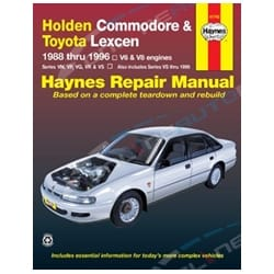 Haynes Car Repair Manual Book Commodore 1988-2000 VN VP VR VS Holden Berlina Calais V6 V8 Engines | 41742