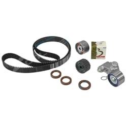 Timing Belt + Hyd Tensioner Kit Subaru Forester SG 02-08 4cyl EJ251 EJ253 2.5L Engine 4 Idler Pulleys | ZPN-05554