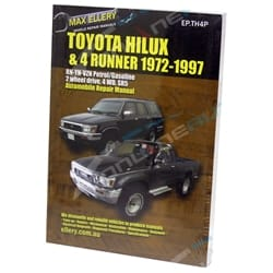 Workshop Manual 4Runner Petrol VZN130 RN130 YN60 YN63 Service Repair Book New | EPTH4P