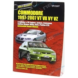 Commodore VT VX VU VY VZ Workshop Car Repair Service Manual Book V6 V8 - Max Ellery