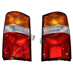 2 Rear Tail Light Lamp Pair suits Toyota Hilux LN106 LN107 LN111 RN105 RN110 Left + Right Sides Ute 1988 to 1997 | ZPN-02223