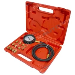 Car Truck Engine Oil Pressure Test Tester Tool Kit Automotive Mechanical 12pce Testing Set | G1009