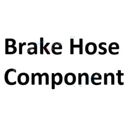 Brake Hose - S/s Braid Clear 1/8 Id Brake Hose Component Aftermarket OEM Replacement