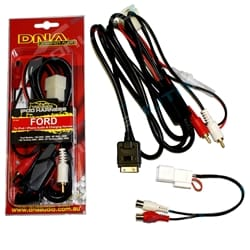 Audio & Charging Harness for Ipod Iphone fit Ford BA BF Falcon & SX SY Territory