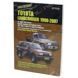 Repair Manual suits Landcruiser 70 73 75 78 79 80 105 Series Diesel Workshop | EPTO18