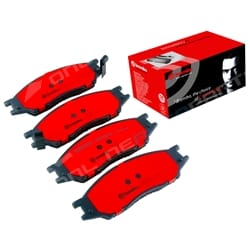 Brembo Front Disc Brake Pads Set Nissan Pulsar N16 2000 to 2005 FWD
