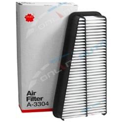 Sakura Air Filter Cleaner suits Toyota Hilux GGN15R GGN25R V6 1GR-FE 4.0L 3956cc 2005 to 2015 | ZPN-12235