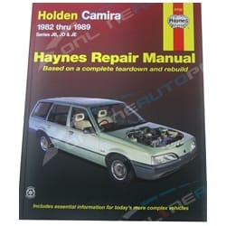 Haynes Car Workshop Repair Manual Camira JB JD JE 1982-1989 Sedan + Station Wagon | 41730