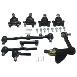 Ball Joints Idler Arm Tie Rod Ends Kit IFS Hilux 4Runner Surf LN107 LN111 LN130 8/1991 Onwards