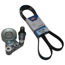 Drive Fan Belt Tensioner Assembly Patrol GU ZD30 3.0L 2000 to 1/2007 Nissan Optibelt | 38214KBELTK1