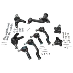 Ball Joint, Tie Rod Ends & Idler Arm Steering Kit Ford Courier PD PE PG PH 4X4 1999 2000 2001 2002 2003 2004 2005 4WD | ZPN-23462