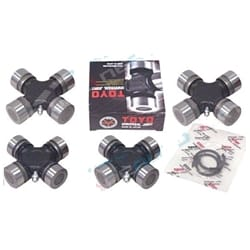 Universal Joint Set 4 Mitsubishi Pajero 4cyl 83-91 1983-1990 NA NB NC ND NF NG Front + Rear Uni Kit