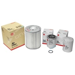 Oil, Air & Fuel Filter Kit Filter Service Kit Sakura