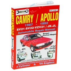 Workshop Car Repair Manual Camry SV21 SV22 VZN21 87-92 Book Mechanical Service - Max Ellery