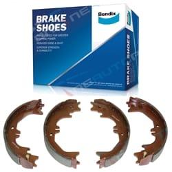 Bendix Park Hand Brake Shoes HZJ75 HZJ78 HZJ79 HDJ79 FZJ75 FZJ78 FZJ79 Handbrake Toyota | BS1744
