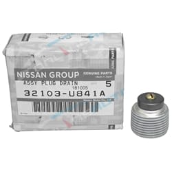 Sump Plug (Front Diff or Gearbox / Transmission or Rear Diff) Genuine Nissan | 32103U841A