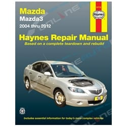 Haynes Car Repair Manual Book Mazda 3 BK BL 2004-2012 incl SP23, Maxx + Neo | 61712