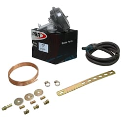 PBR VH40 Universal Vacuum Hydraulic Operated Brake Power Booster Disc/Drum with Bracket