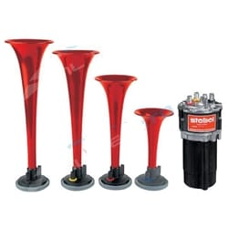 Call to Post Musical Air Horn Kit 12volt Stebel Italian Design at the Races Tune | MP4-12-CP