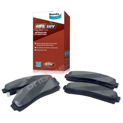 Front Disc Brake Pads Bendix 4wd Ford Explorer 1991-02 UN UP UQ US UT 4.0 V6 Set