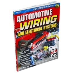 SA Design CarTech - Automotive Wiring & Electrical Systems Workshop How to Book SA160 | CT-SA160