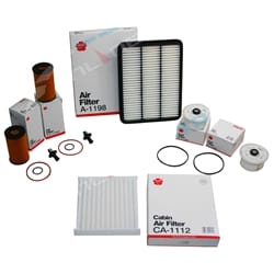 Filter Service Kit Plus suits Landcruiser V8 Diesel VDJ78 VDJ79 V8 1VD-FTV 4.5L Toyota