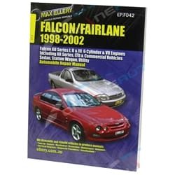 Workshop Car Repair Manual Ford AU Falcon Fairlane XR6 XR8 Sedan Wagon Ute Book