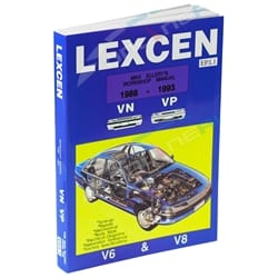 Workshop Repair Manual suits Toyota Lexcen VN VP V6 Commodore Book