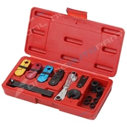 12pce A/C Fuel Transmission Oil Line Disconnect Tool Set Kit with Plastic Case | BPA1038
