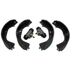 Rear Brake Shoes + Wheel Cylinder Set suits Landcruiser HJ61 BJ60 FJ60 FJ62 HJ60 1980-1990 4X4 60 Series   ZPN-11961