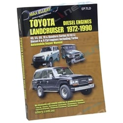 Workshop Repair Manual Book suits Landcruiser HJ45 HJ47 HJ60 HJ61 HJ75 BJ42 Diesel
