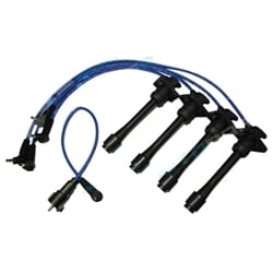 NGK Ignition Spark Plug Lead Set suits Toyota Starlet GT EP82 4E-FTE 1.3L 4cyl 1990 1991 1992 1993 1994 1995