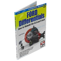 AUTOMOTIVE BOOK FORD DIFFERENTIALS HOW TO BUILD THE FORD 8.8 & 9 INCH - SA249 | ZPN-30246