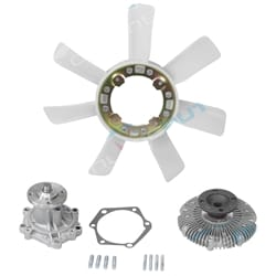 Water Pump, Fan Clutch & Blade Tora | ZPN-33527