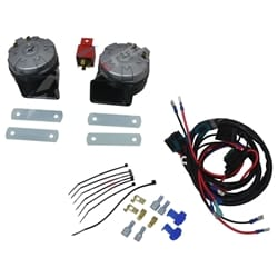 136dB High Power Stebel Magnum Twin Electric Horn + Wiring Harness Car Bike Loud | 11452139+