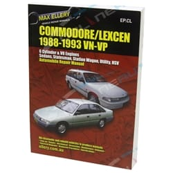 New Workshop Repair Manual Commodore VN VP V6 + V8 456page Book Garage Service Max Ellery