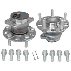 Rear Set of 2 Wheel Bearing Hub Assembly GSP | ZPN-34390