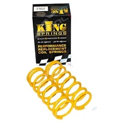 2 Rear 50mm Lift Coil Spring suits Landcruiser 80 Series FJ80 FZJ80 HDJ80 HZJ80 1991-98 Toyota Wagon Pair | KTRS-70HD