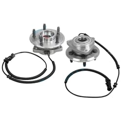 Front Set of 2 Wheel Bearing GSP Wheel Bearing Hubs