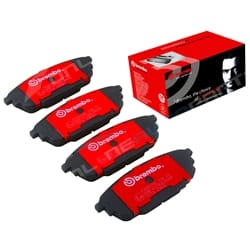 Rear Disc Brake Pad Set Mazda 323 BJ 1998-2003 1.8L 2.0L Brembo | P99019