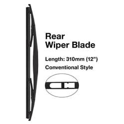 1 x Wiper Refill (Tridon) | TRB017