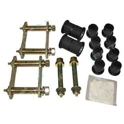 Greasable Shackle + Pin Bush Kit Holden Rodeo 4x4 1988-2008 Leaf Spring with Polyurethane Bushes