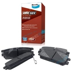Bendix 4x4 Rear Disc Brake Pads Delica Van 1994-2004 2.4L 2.8L 3.0L L400 New Set