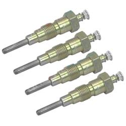 4 Diesel Glow Plugs 8 volt suits Toyota Dyna JU10 2J Engine L 4cyl 19850-46021