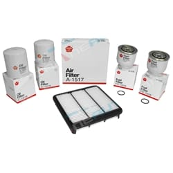2 Oil - 1 Air - 2 Fuel Filter Service Kit Filter Service Kit Sakura