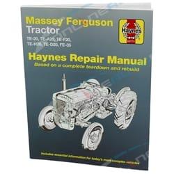 Gregory's Workshop Repair Manual Book Massey Ferguson Tractor TE20 TEA20 TEF20 TEH20 TED20 FE35 Petrol & Diesel   60775