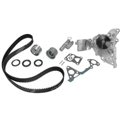Timing Belt + Hydraulic Tensioner Kit with Water Pump Timing Belt+Tensioner Kit Matsumo | ZPN-05575