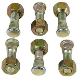 6 pack FRONT/REAR Wheel Stud + Nut Hilux 1983-1988 LN55 LN56 LN65 YN55 YN57 YN65 YN67 Toyota Ute